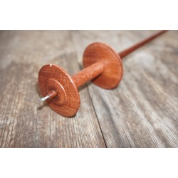 Spool Spindle Green Heart