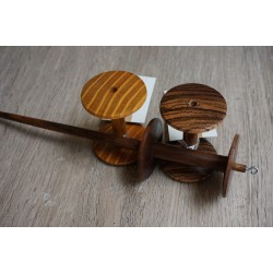Spool Spindle Set Walnut