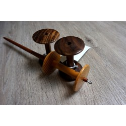 Spool Spindle Set Sipo Osage Orange