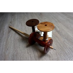 Spool Spindle Set Hornbeam Padouk