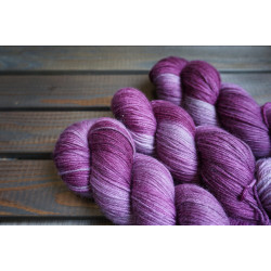 Merino Cashmere Sock Purple Rain