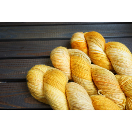 Merino Cashmere Sock Autumn Gold