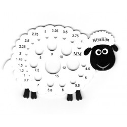 Hiya Hiya needle gauge sheep