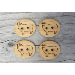 Sheep Buttons