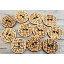 Knitting pattern Buttons