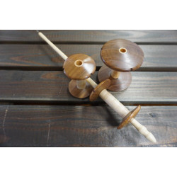 Foot Spool Spindle Set Weissbuche