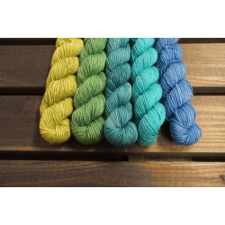 Merino Single Verlaufsset Tides